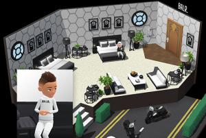 """BALR. im Social Game """"Hotel Hideaway"""" von Azerion."""